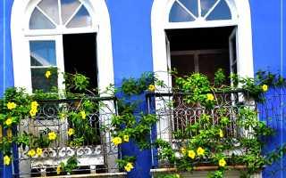 Кашпо для цветов на балкон