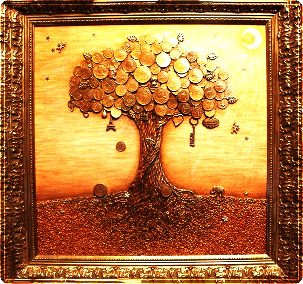 денежное дерево своими руками пошагово